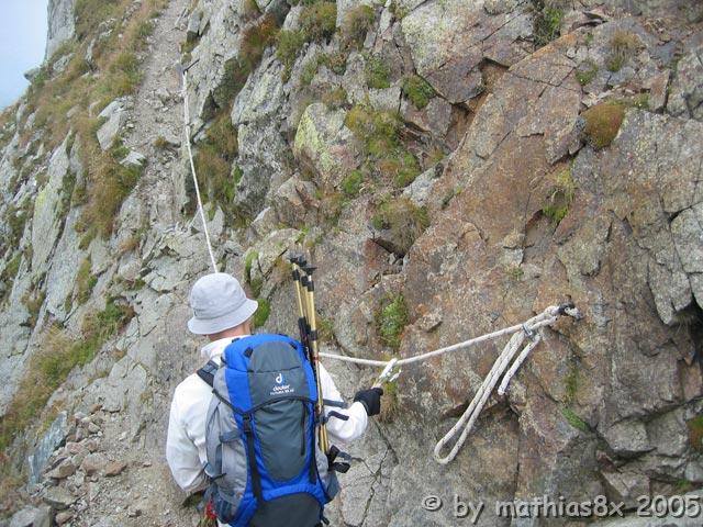 Klettersteig Ifinger : Heini holzer klettersteig schenna ifinger tourentipp